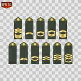 Badge, army, honor icon vector image stock illustration