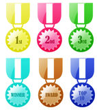 Badge Award Medal Stock Photos