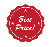 Badge - Best Price! Royalty Free Stock Images