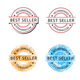 Badge Best seller Stock Photo