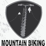 Badge biking design Stock Photography