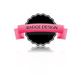 Badge . Royalty Free Stock Photography