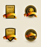 Badge collection Stock Image