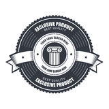 Badge or emblems template for product or emblem vector illustration
