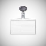 Badge holder Royalty Free Stock Photos
