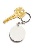 Badge and key Stock Photos