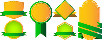 Badge, Label and Banner Set Royalty Free Stock Photography
