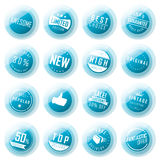 Badge and label set Royalty Free Stock Images