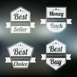 Badge, label and sticker for best seller. Royalty Free Stock Image
