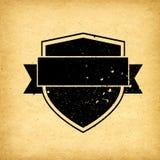 Badge label vintage background Stock Images