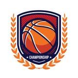 Basketball Tournament Logos Royalty Free Stock Photo