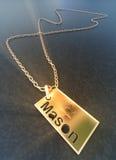 Badge for Mason Stock Photo
