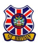 Badge Of Britain Royalty Free Stock Image