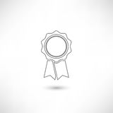 Badge Outline Royalty Free Stock Photography