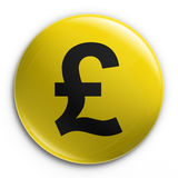 Badge - pound Stock Images