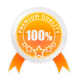 Badge of Premium Quality Stock Photography