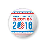 Badge for Presidential Election 2016. Vector. Illustration royalty free illustration