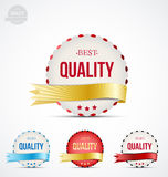Badge of quality Stock Images