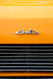 A badge of retro ZIL-118K car Stock Photography