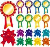 Badge set Royalty Free Stock Photos