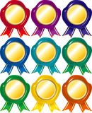 Badge set Royalty Free Stock Photography
