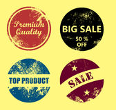 Badge set Royalty Free Stock Photography