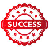 Badge of success Royalty Free Stock Photo