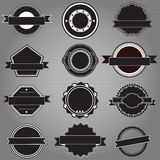 Badge templates Stock Images