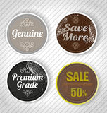 Badge Royalty Free Stock Photos