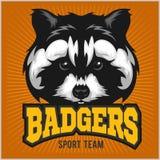 Badger Sport team Logo Stock Images