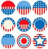 Badges Royalty Free Stock Image