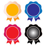 Badges Royalty Free Stock Photo
