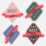 Badges-09 Photo stock
