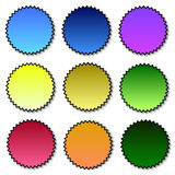 Badges collection Royalty Free Stock Photos