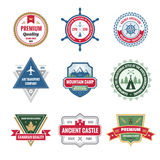 Badges Collection in Vector Format Royalty Free Stock Image