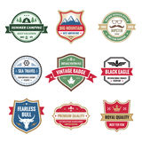 Badges Collection in Vector Format. For different design works Royalty Free Stock Photos