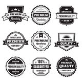 Badges Collection 01. Badges collection in vector format for your designed materials Royalty Free Stock Image