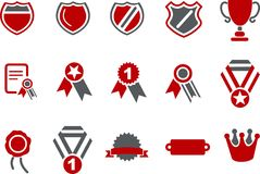 Badges Icon Set Stock Images