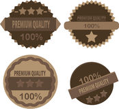Badges label button element in vector Stock Photos