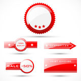 Badges and labels Royalty Free Stock Images