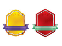 Badges and labels Stock Photography