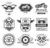 Badges Motorcycle Collections Stock Photography