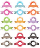 Badges and ribbons Royalty Free Stock Image