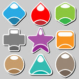 Badges set Royalty Free Stock Image