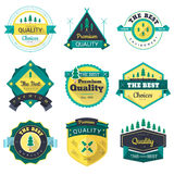 Badges royalty free illustration
