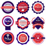 Badges vector illustration