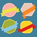Badges-01 Royalty Free Stock Photos