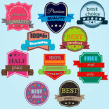 Badges-17 Royalty Free Stock Photography