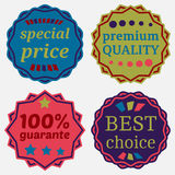 Badges-34 Royalty Free Stock Photos
