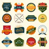 Badges Stock Photography